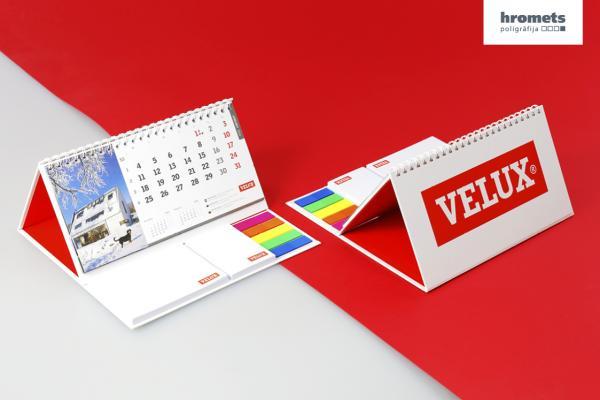 Kalendāru izgatavošana, druka