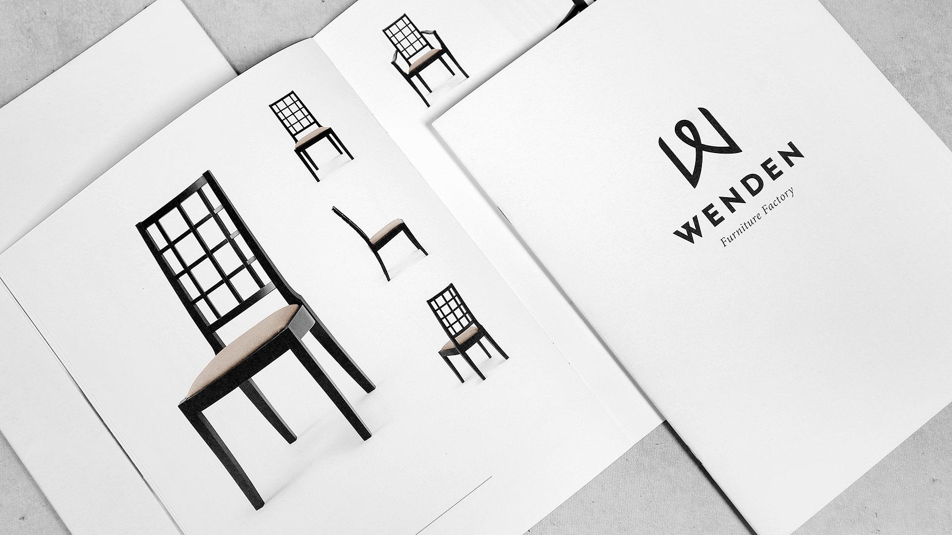 Brošūru druka Wenden Furniture