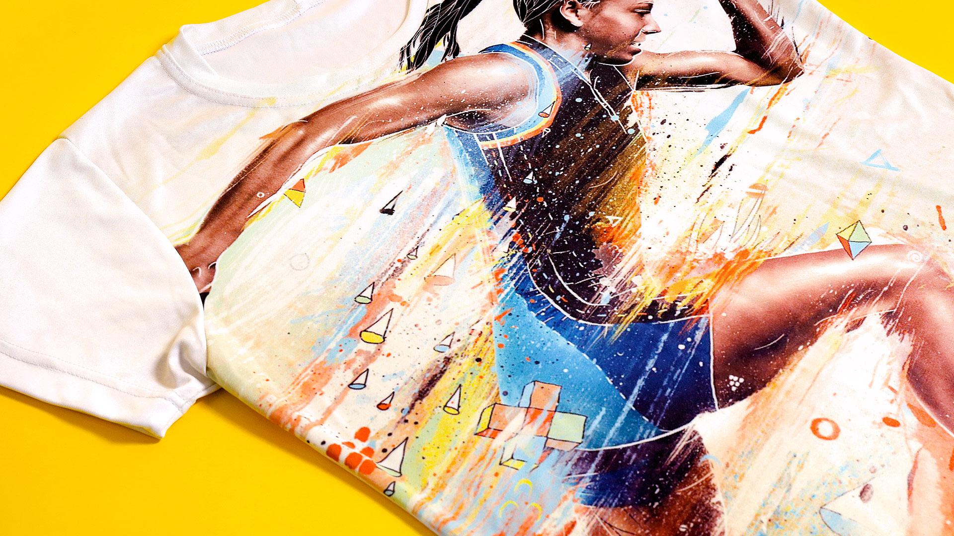 Reklāmas suvenīri, T-kreklu apdruka