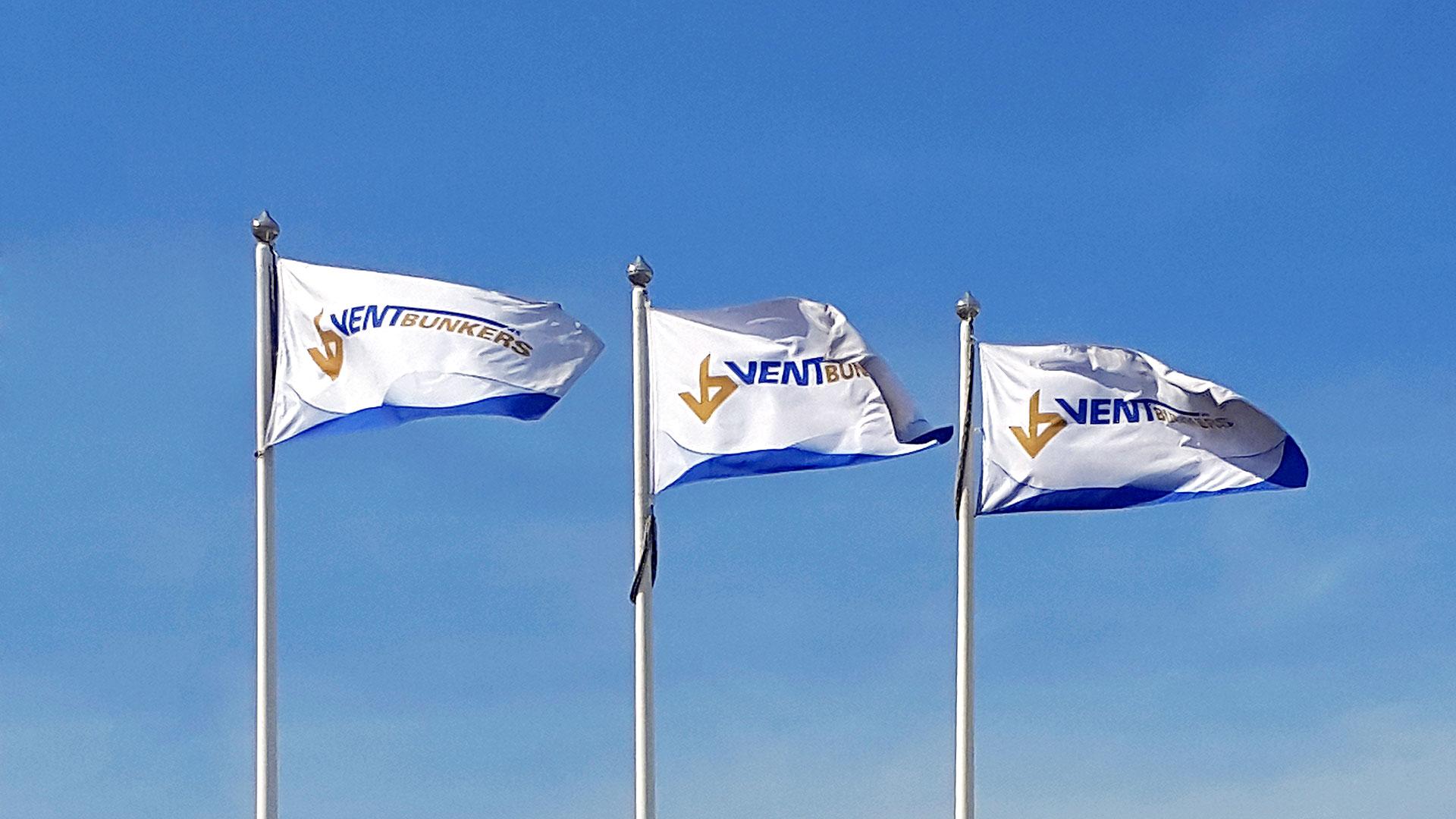 Reklāmdruka Ventbunkers karogi