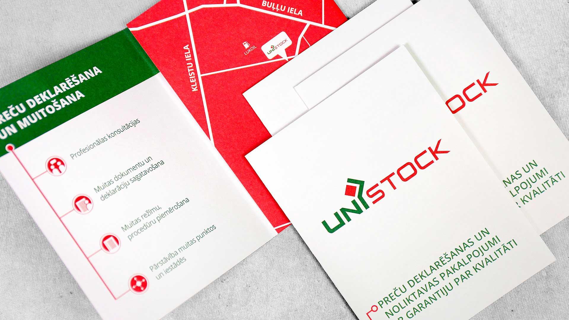 Reklāmas bukleti Unistock