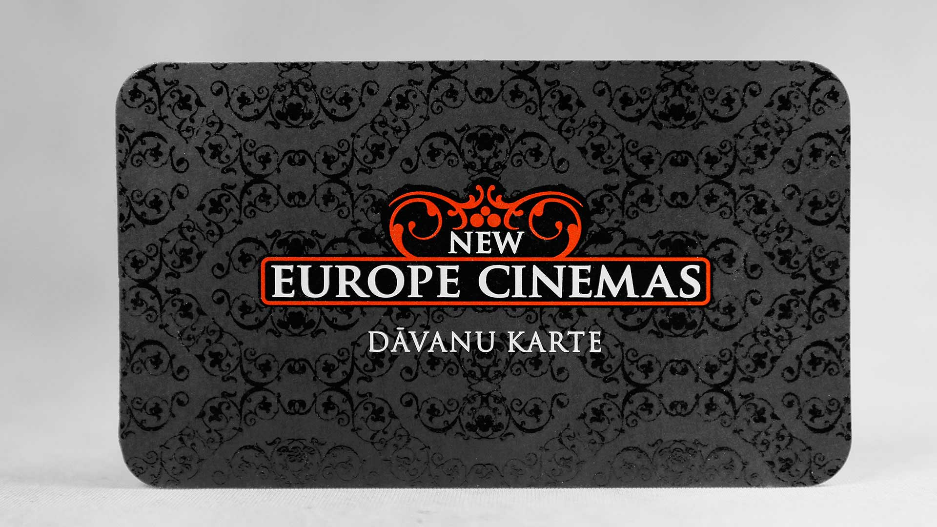 Dāvanu kartes izgatavošana Europe Cinemas