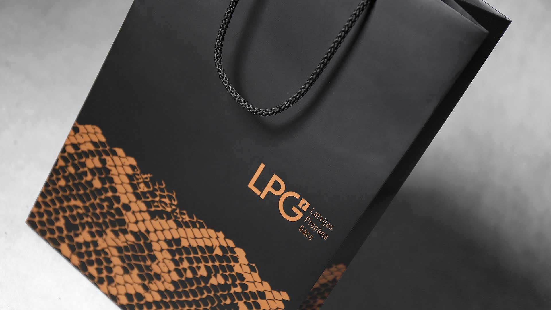 Dāvanu maisiņu apdruka LPG
