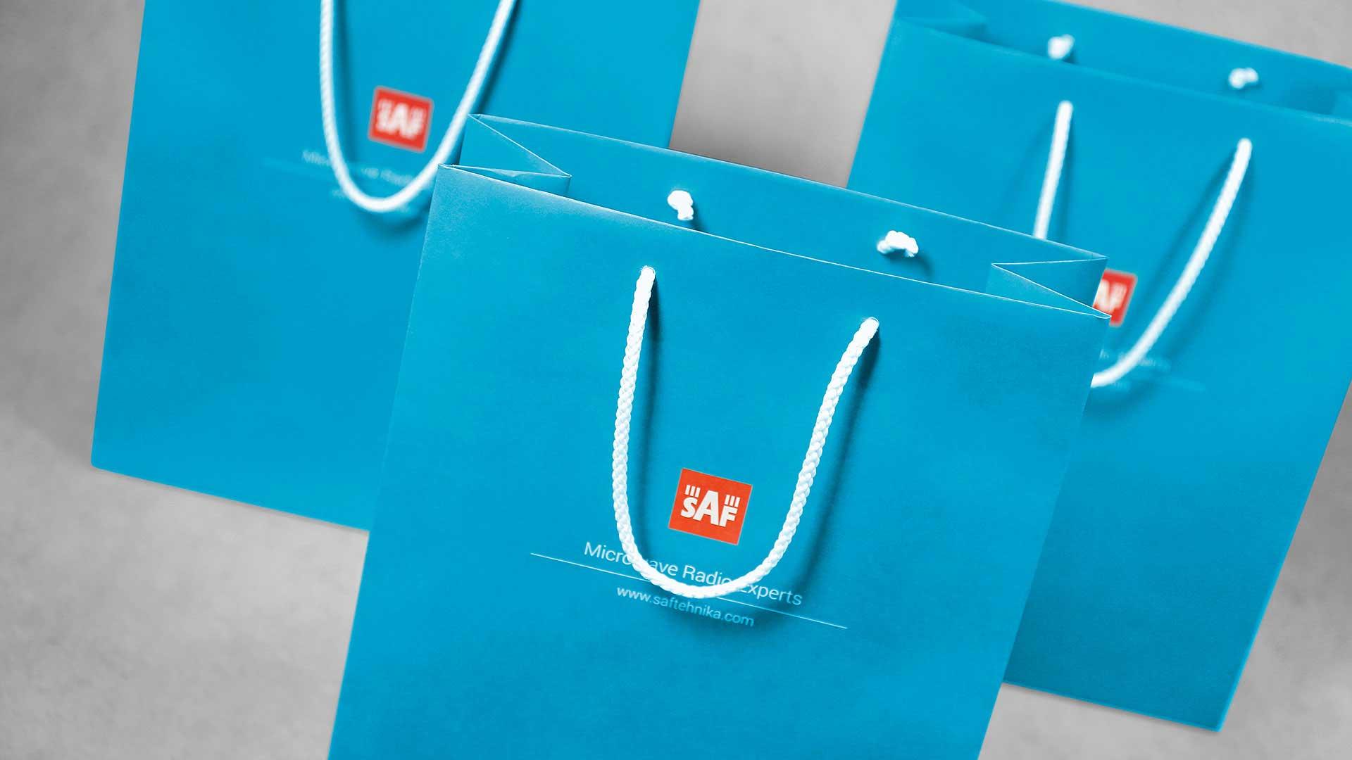 Dāvanu maisiņu apdruka SAF