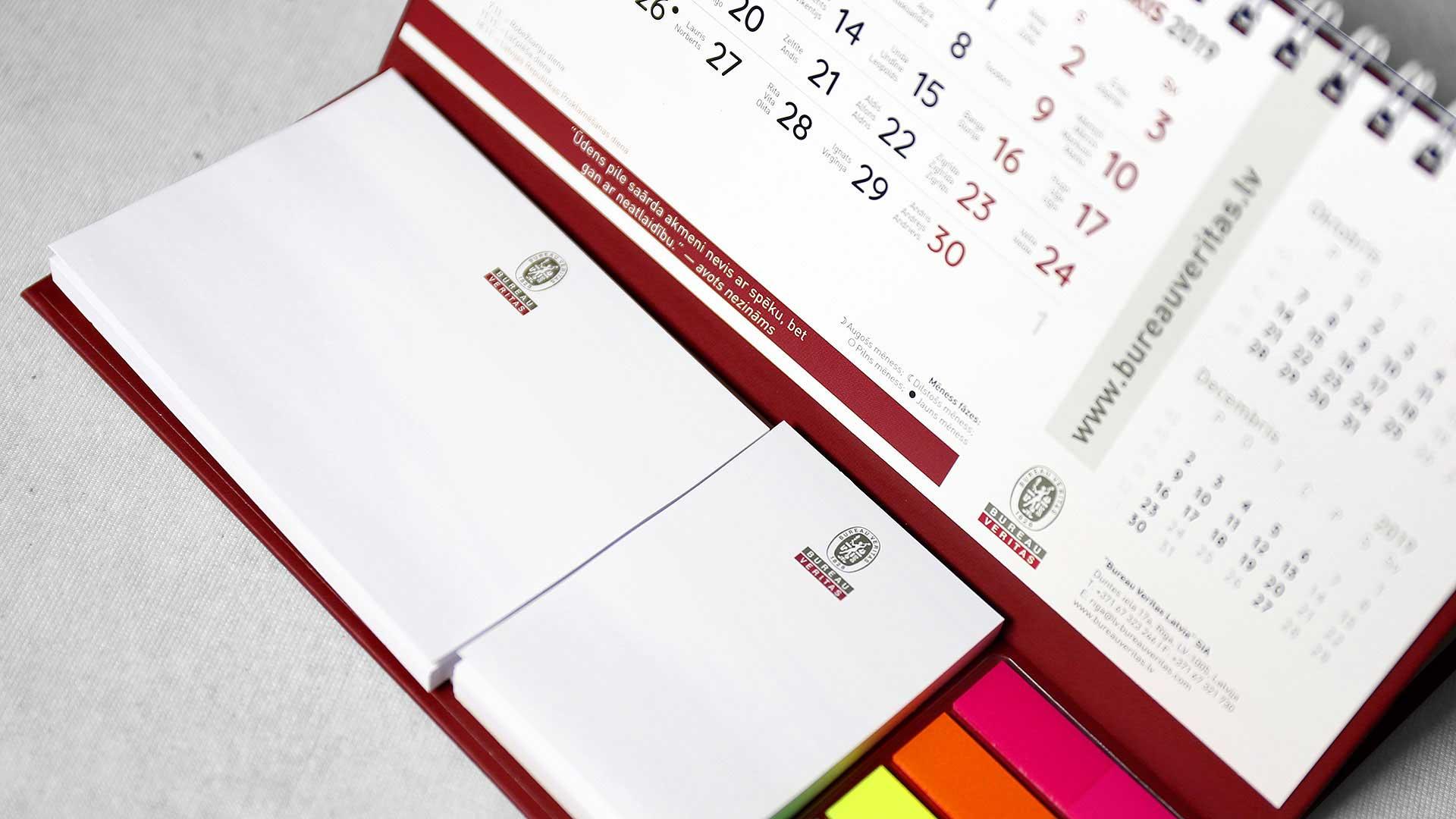Galda kalendāri Bureau Veritas