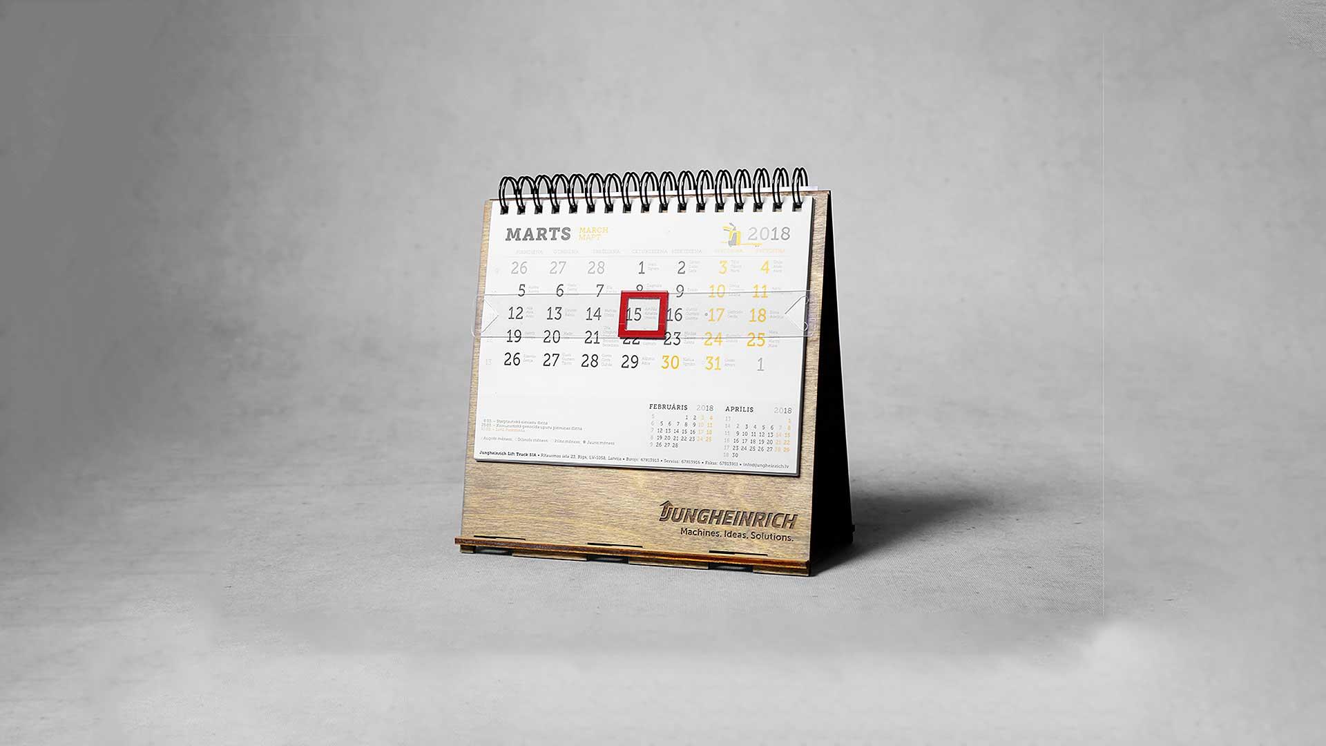 Koka kalendāri Jungheinrich
