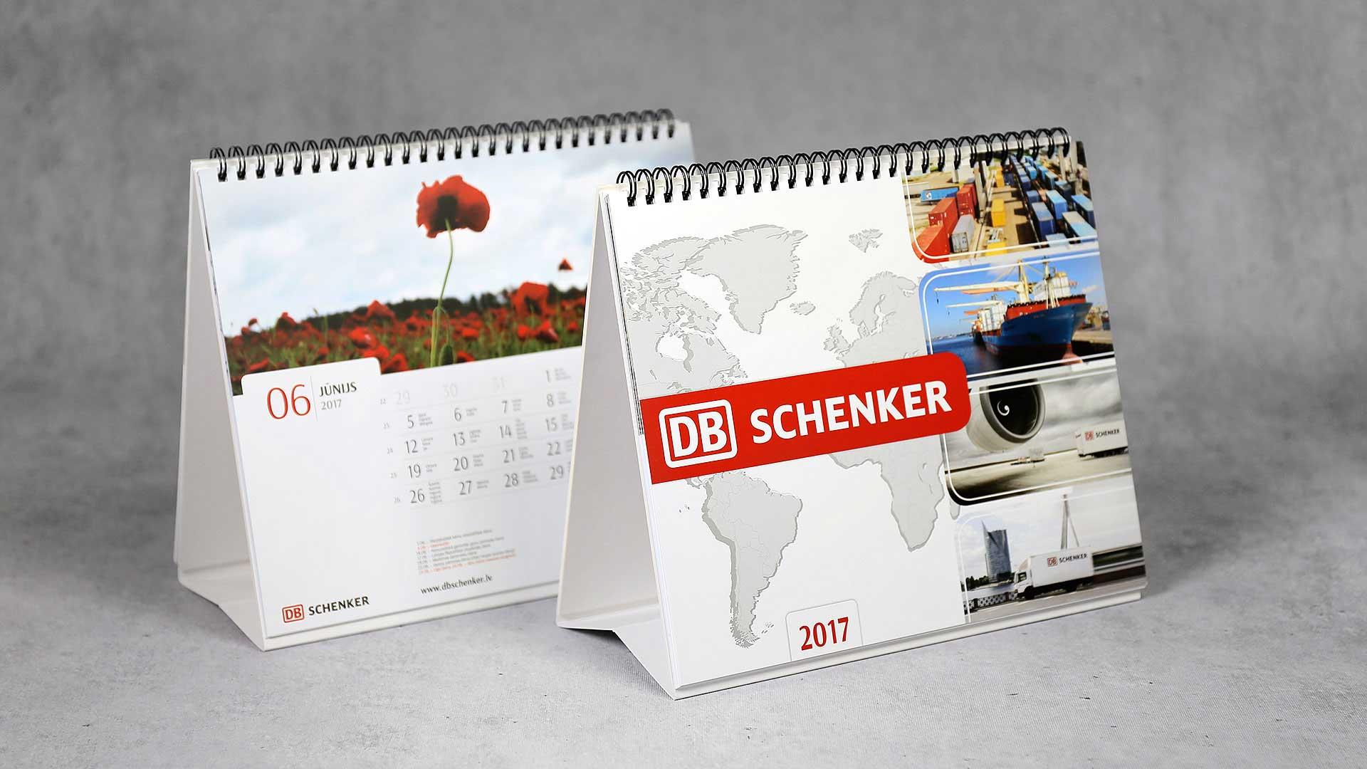 Galda kalendāri Schenker