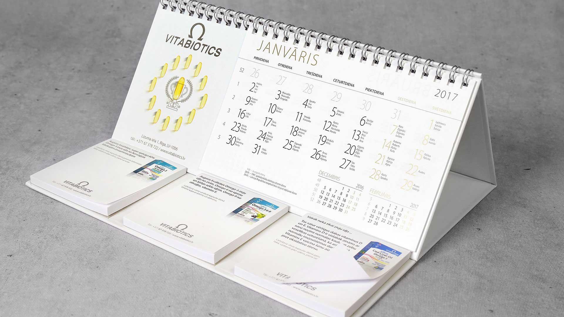 Galda kalendāri VItabiotics