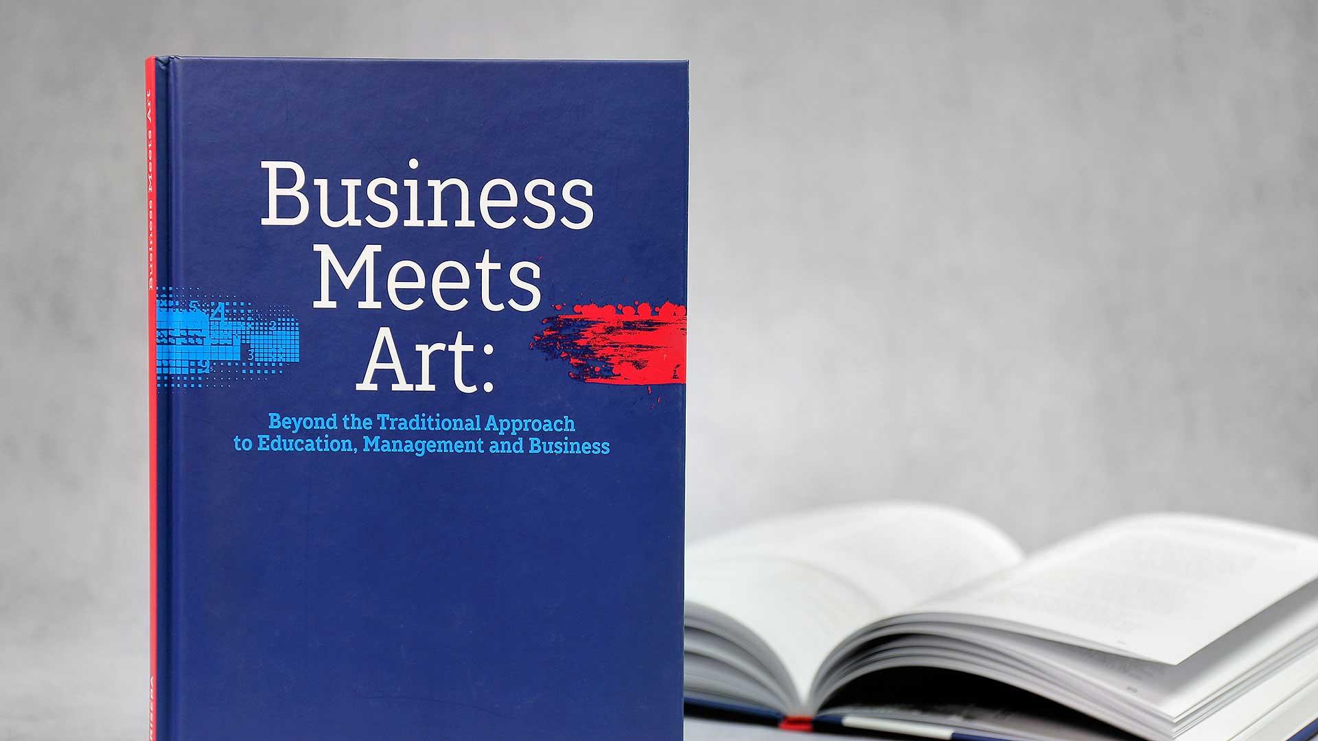 Grāmatu iesiešana Business Meets Art