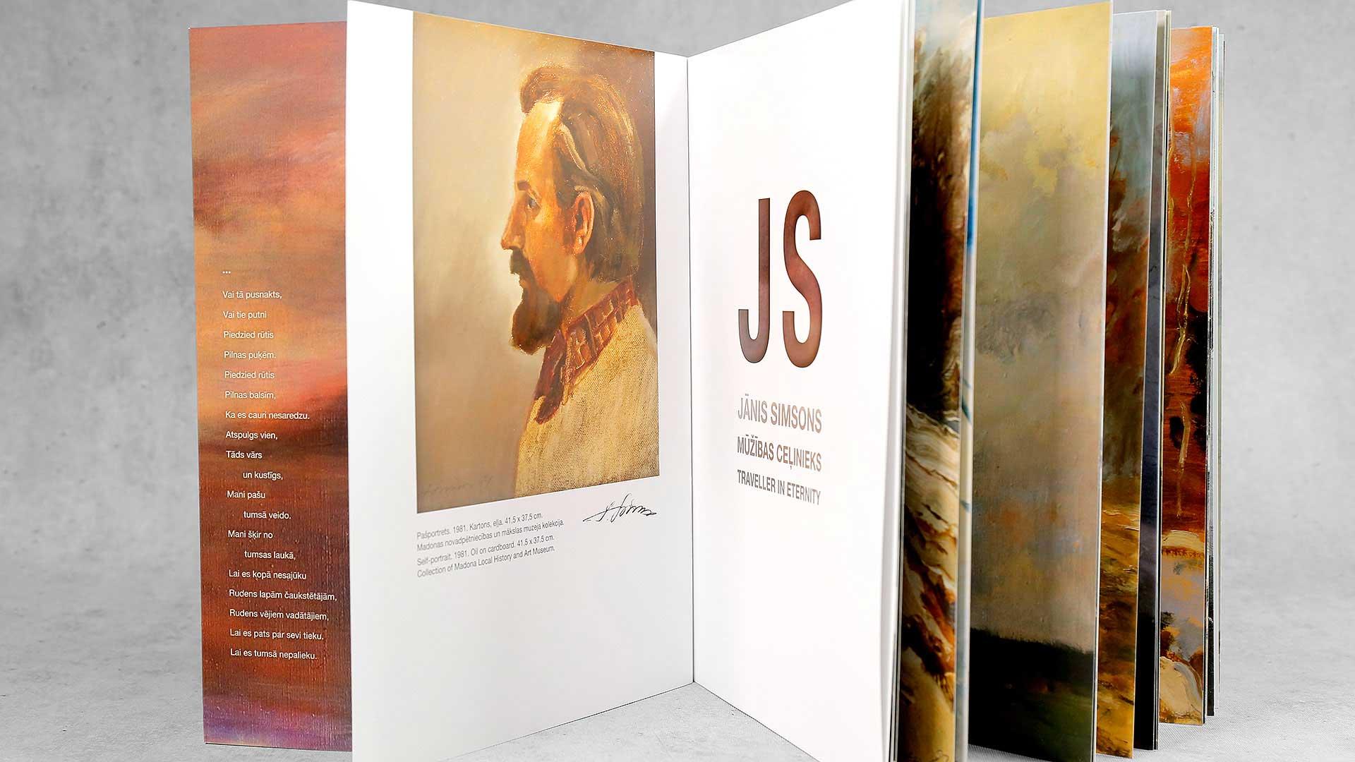 Grāmatu iesiešana Jānis Simsons