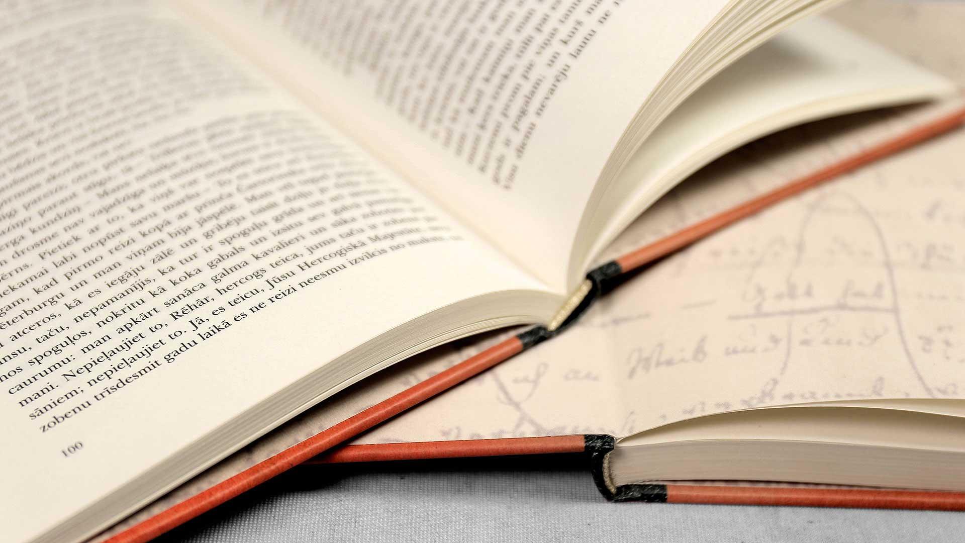 Grāmatu iesiešana, grāmatas atvērums