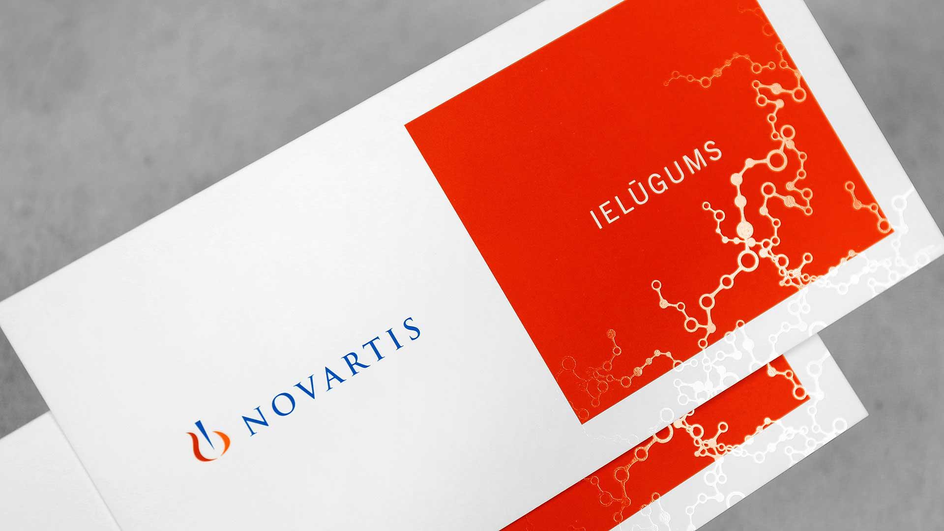 Ielūgumu druka Novartis
