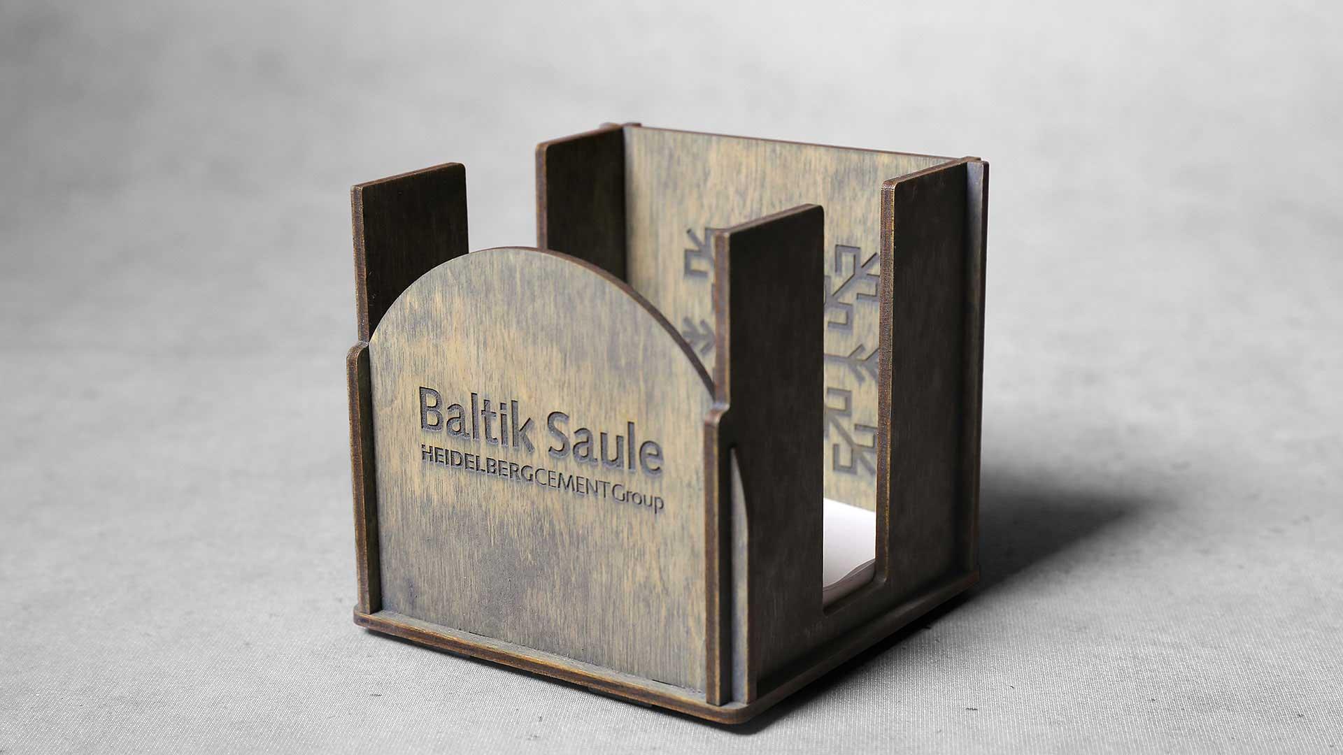 Iepakojumi, kastītes Baltik Saule piezīmēm