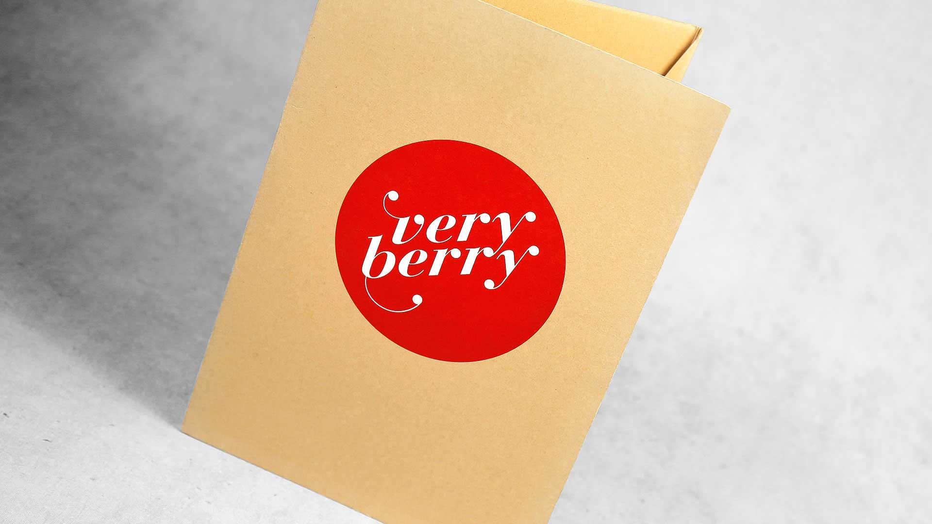 Kartona mapes apdruka Verry Berry