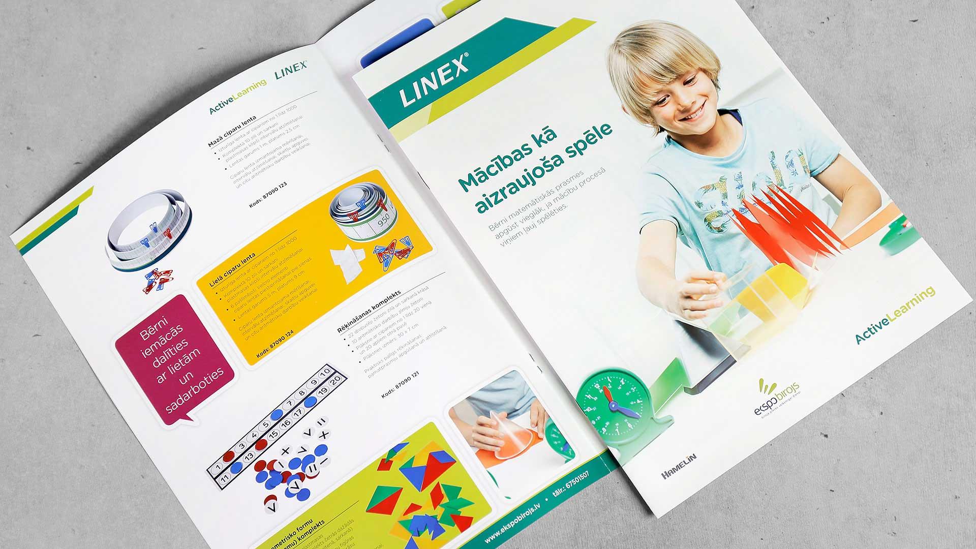 Katalogu druka Linex