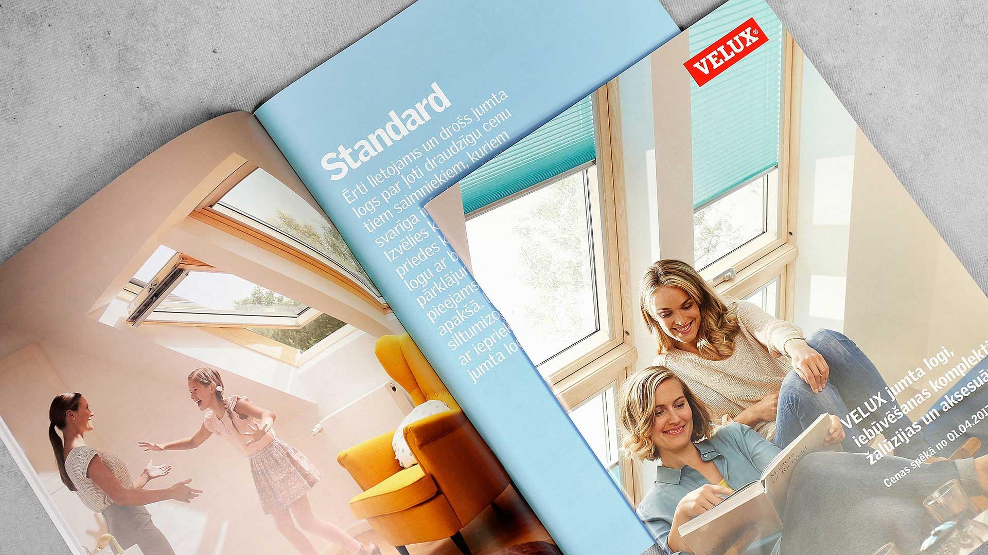 Katalogu druka Velux