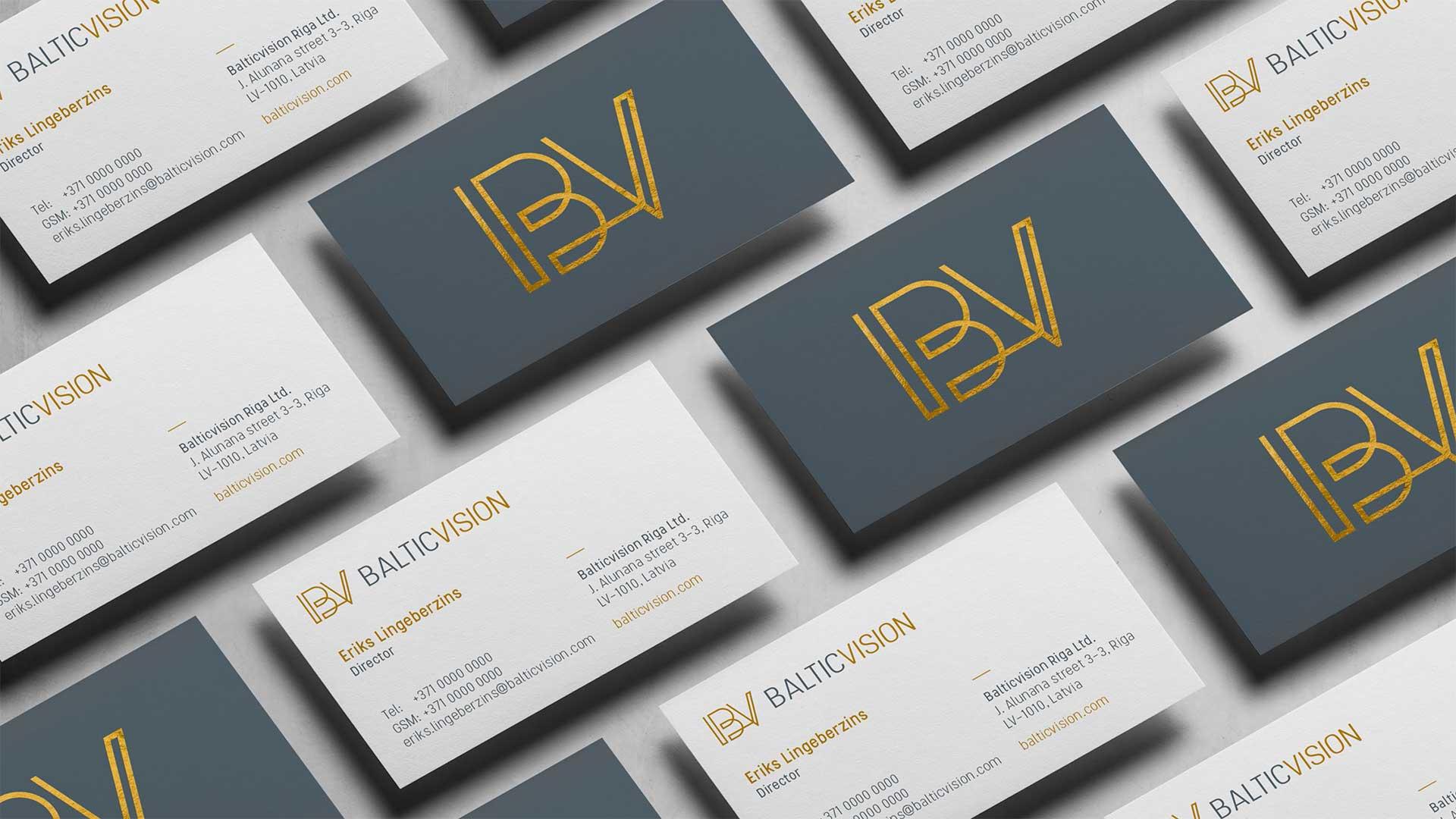 Logo izveide un izstrāde Balticvision