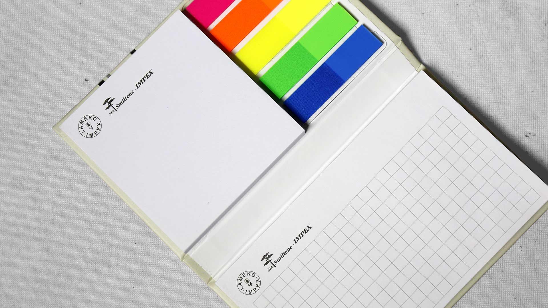 Līmlapiņu dizains un apdruka Lameko Impex