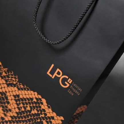 Papīra maisiņu apdruka LPG