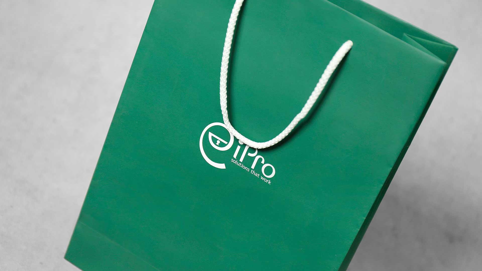 Papīra maisiņu apdruka, izgatavošana iPro