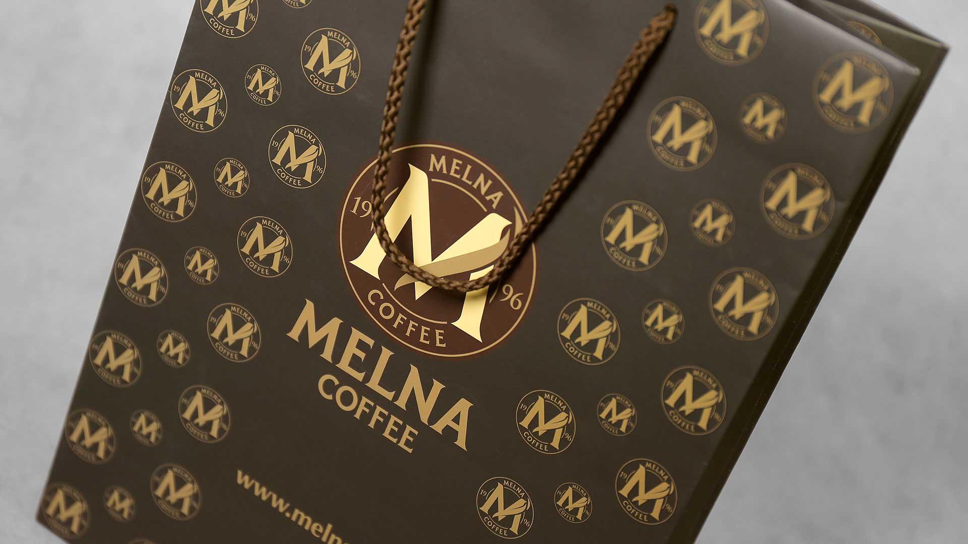 Papīra maisiņu apdruka, izgatavošana Melna Coffee