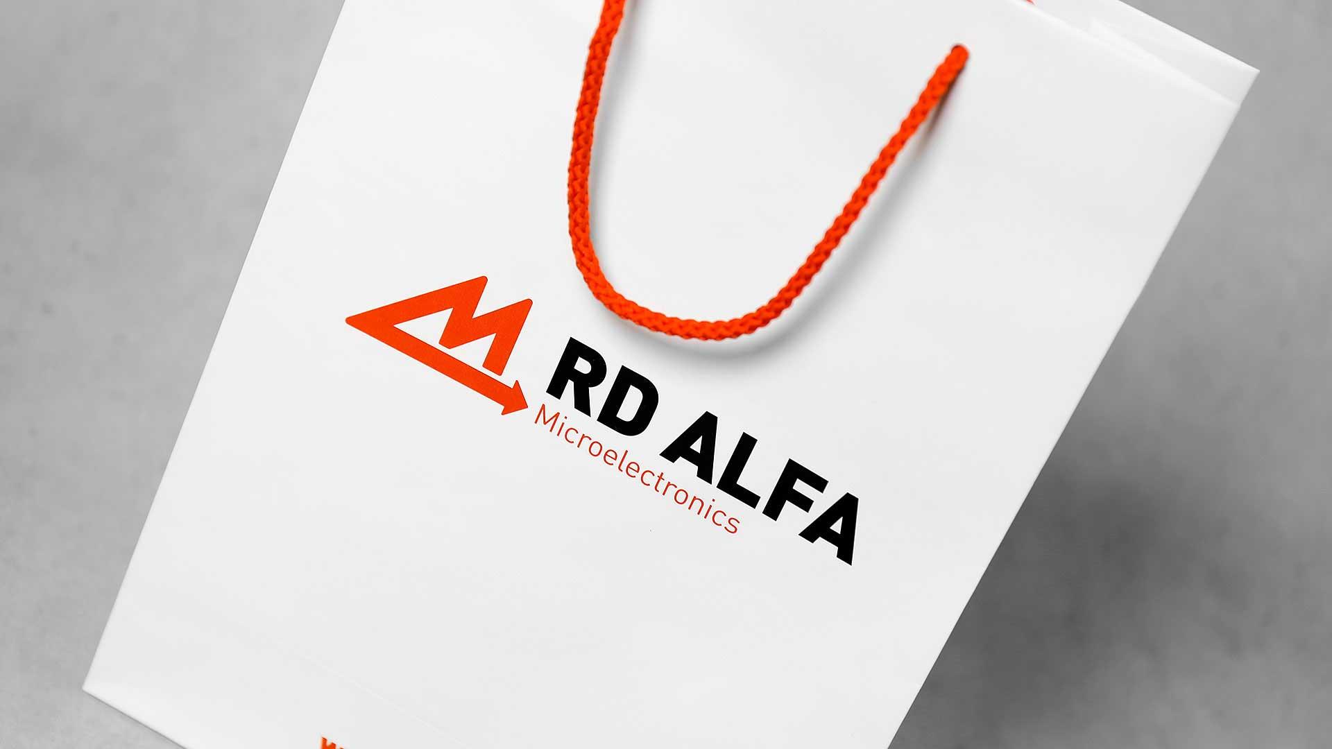 Papīra maisiņu apdruka, izgatavošana RD Alfa