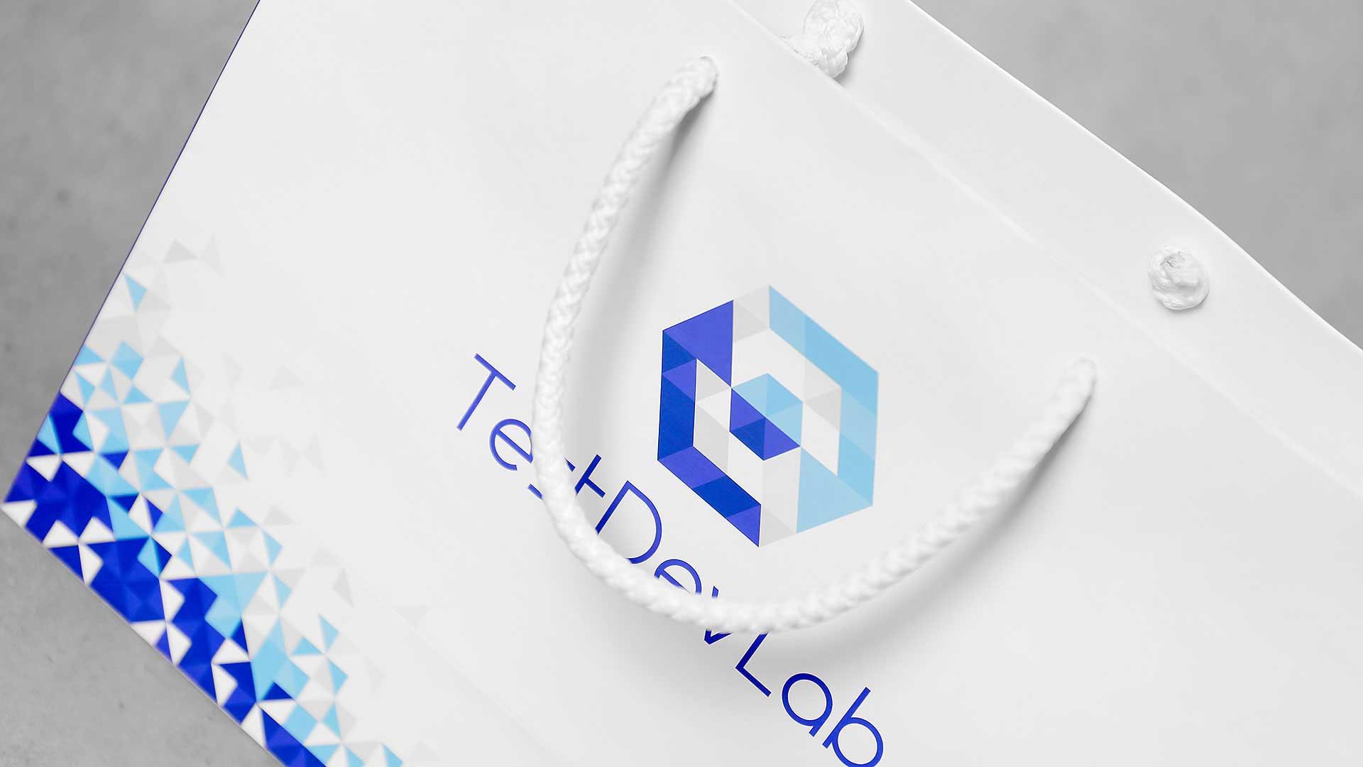 Papīra maisiņu apdruka, izgatavošana TehDevLab