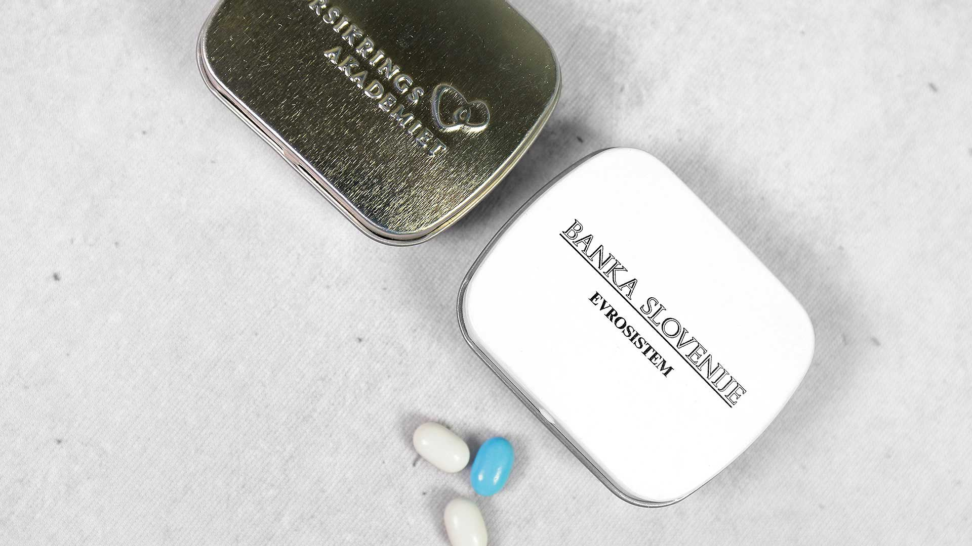 Personalizētas konfektes ar reklāmu, logo