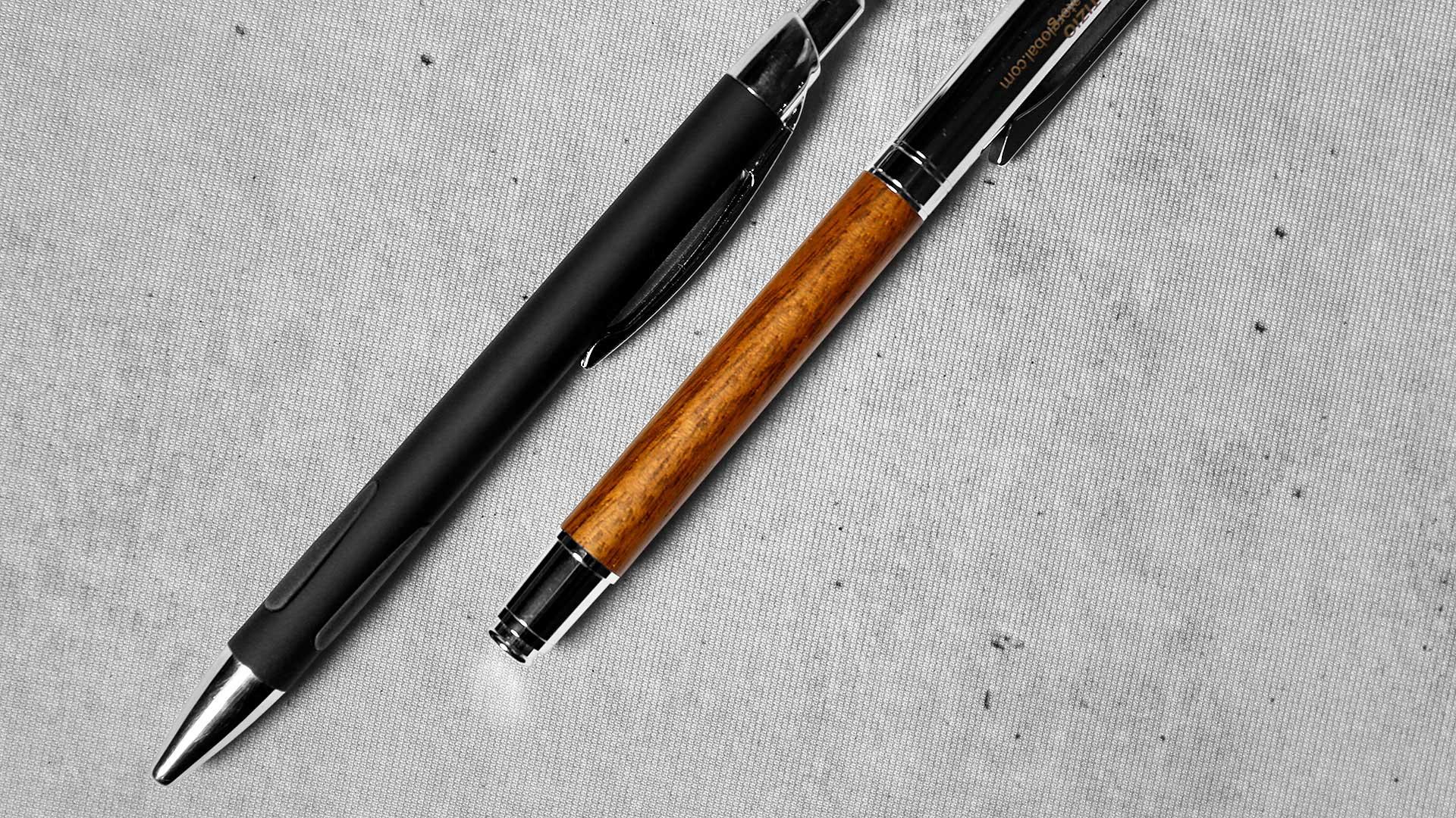 Pildspalvu apdruka paraugi