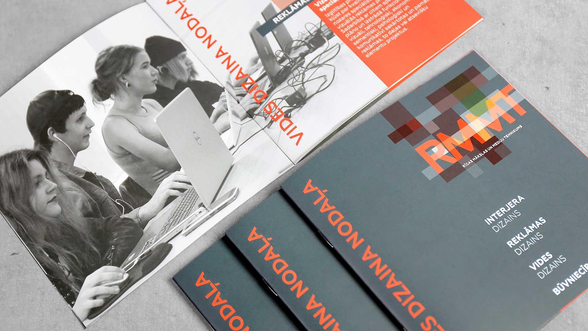 Reklāmas brošūru druka RMMT