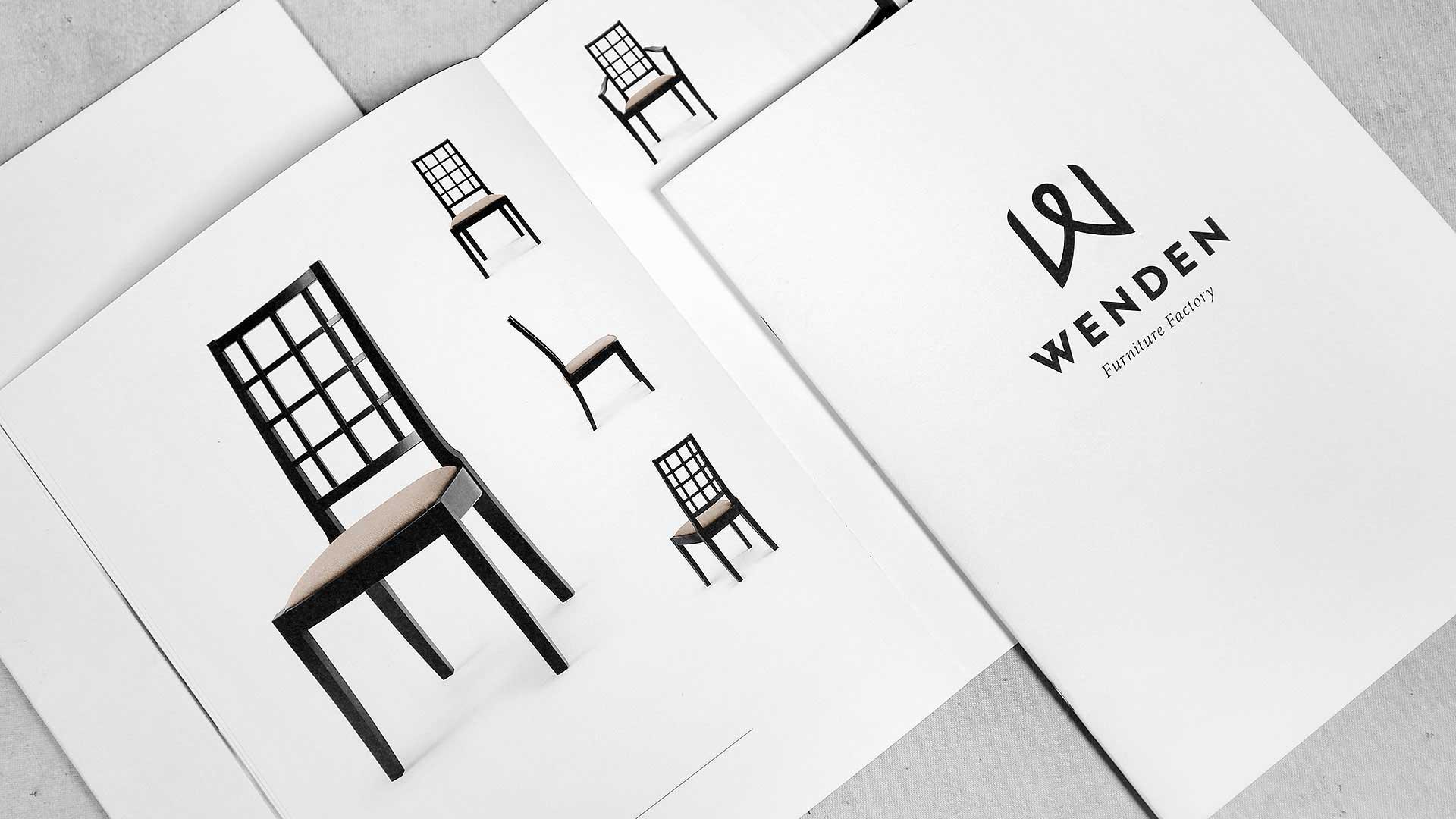 Reklāmas brošūru druka Wenden Furniture