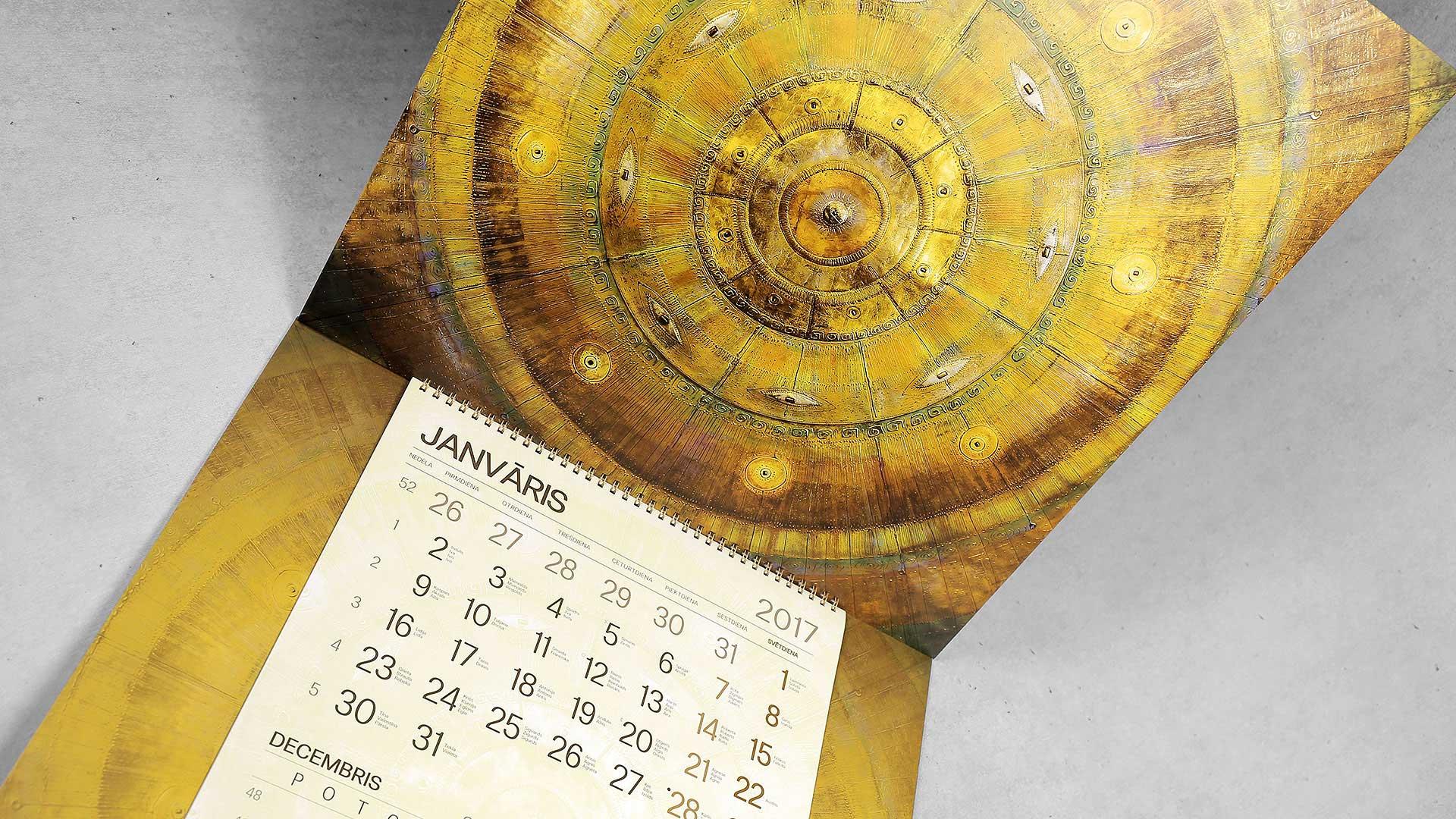 Sienas kalendāru druka