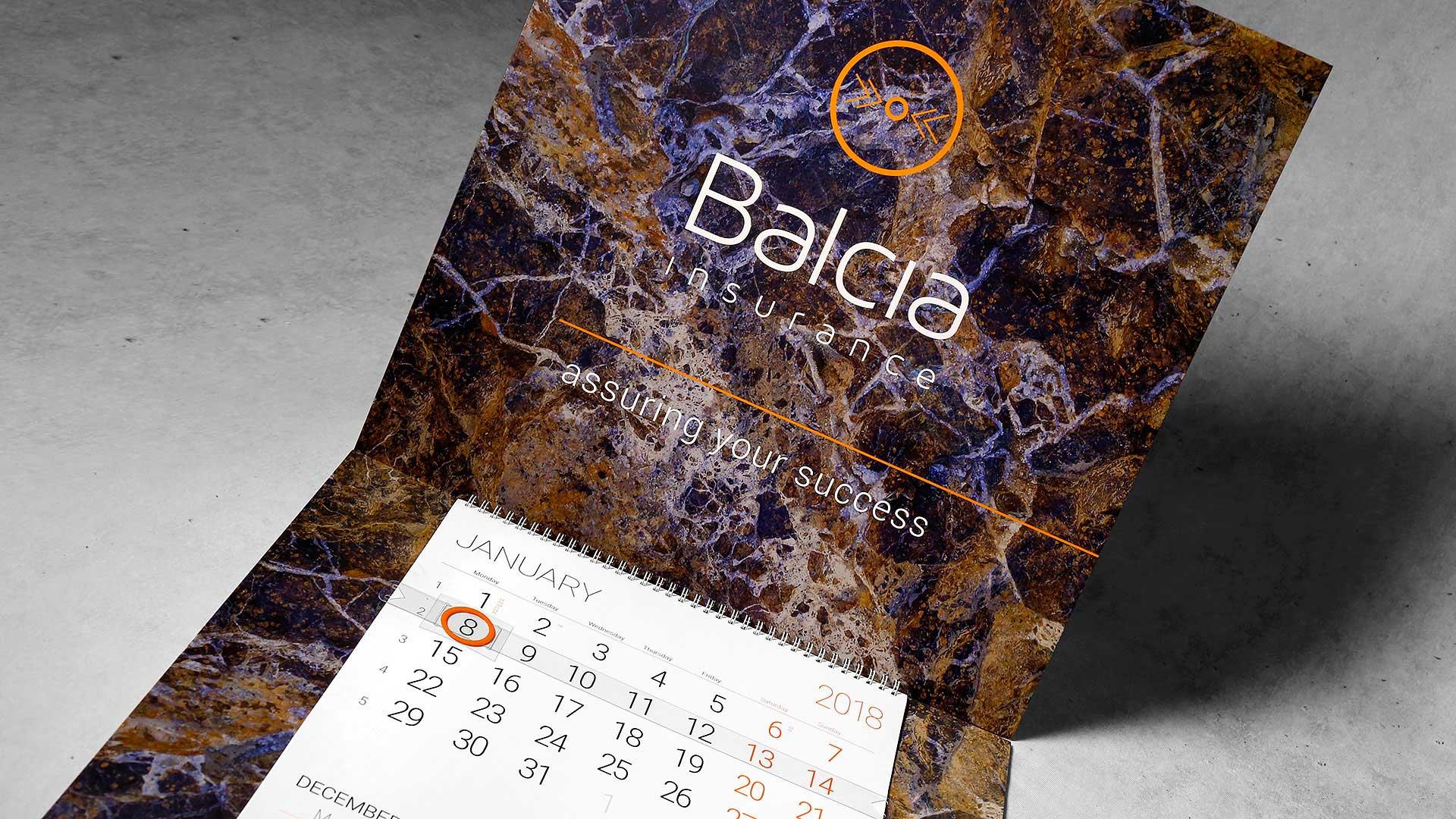 Sienas kalendāru izgatavošana Balcia