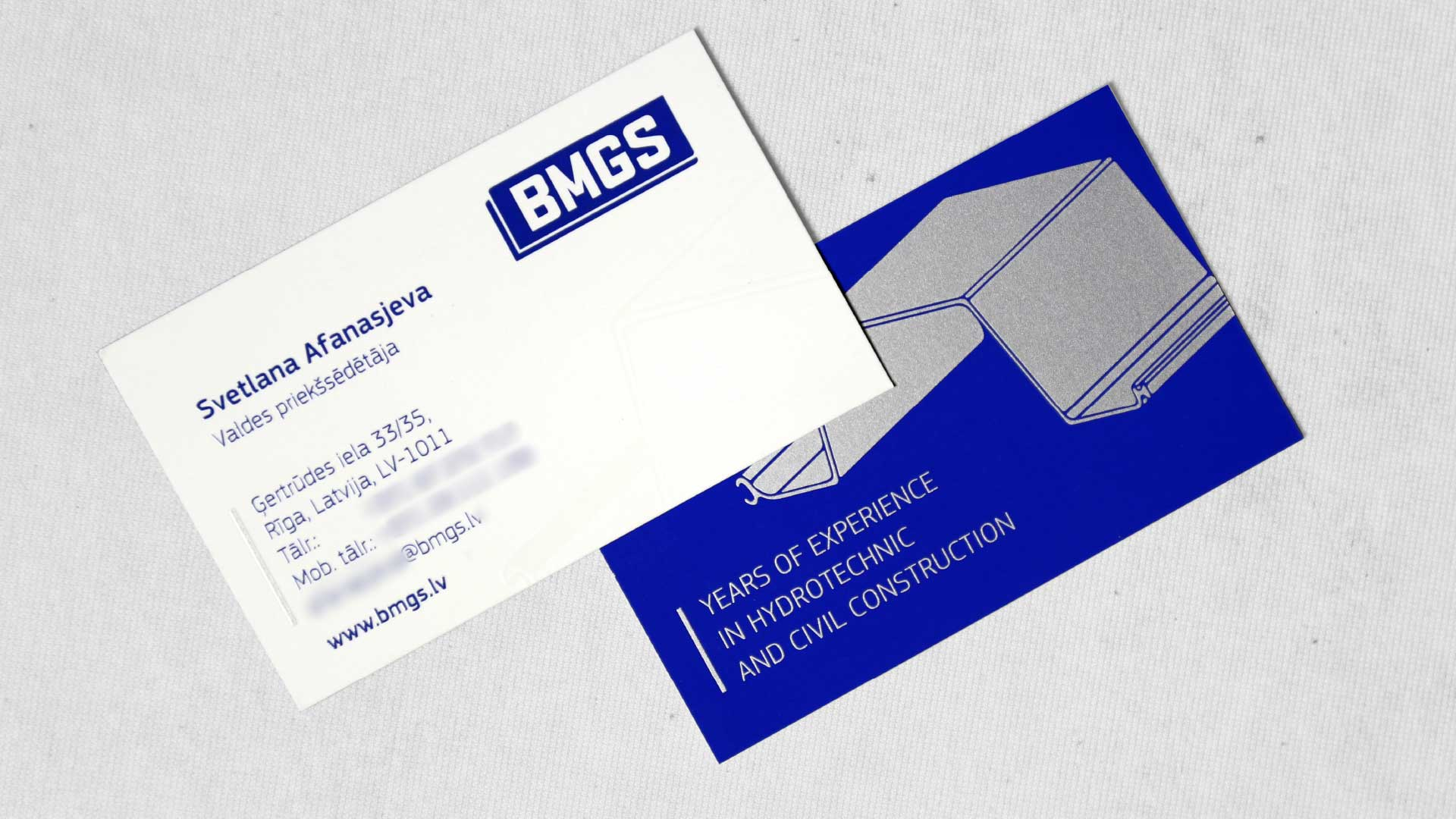 Vizītkaršu izgatavošana BMGS