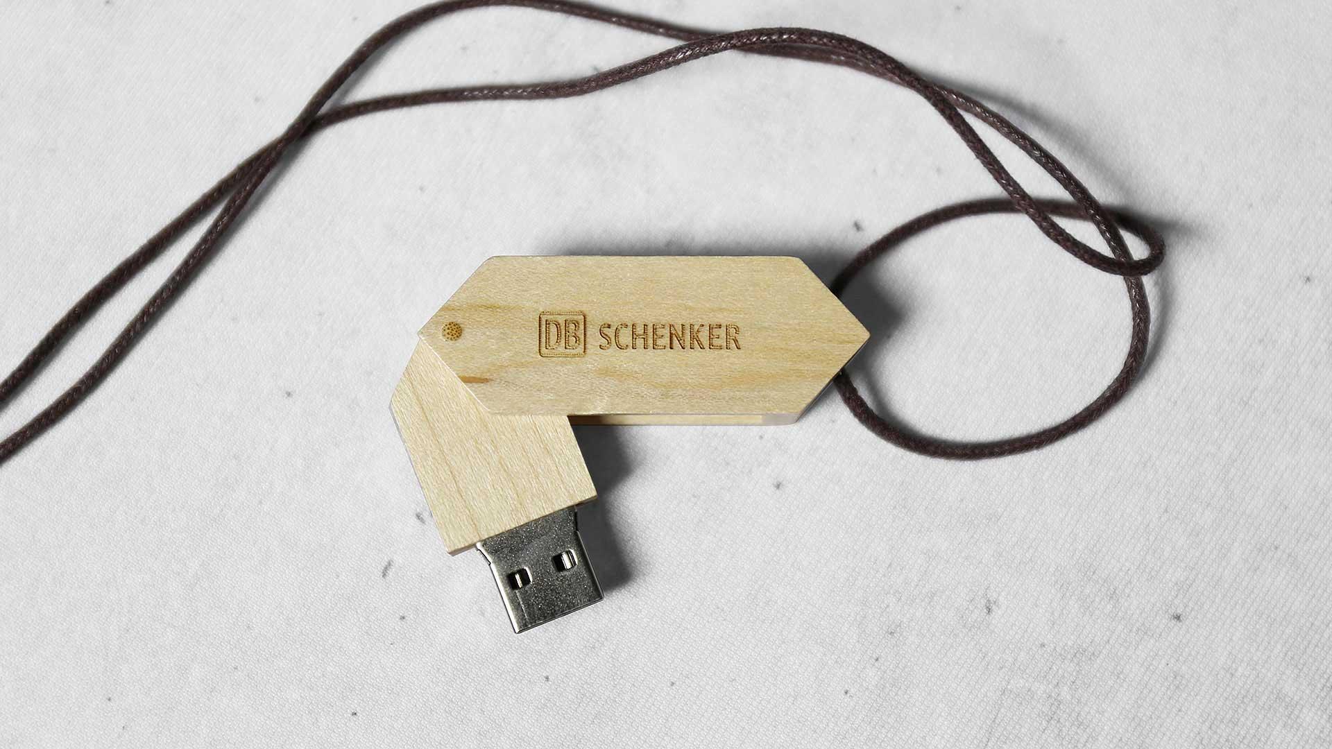 Zibatmiņu apdruka Schenker