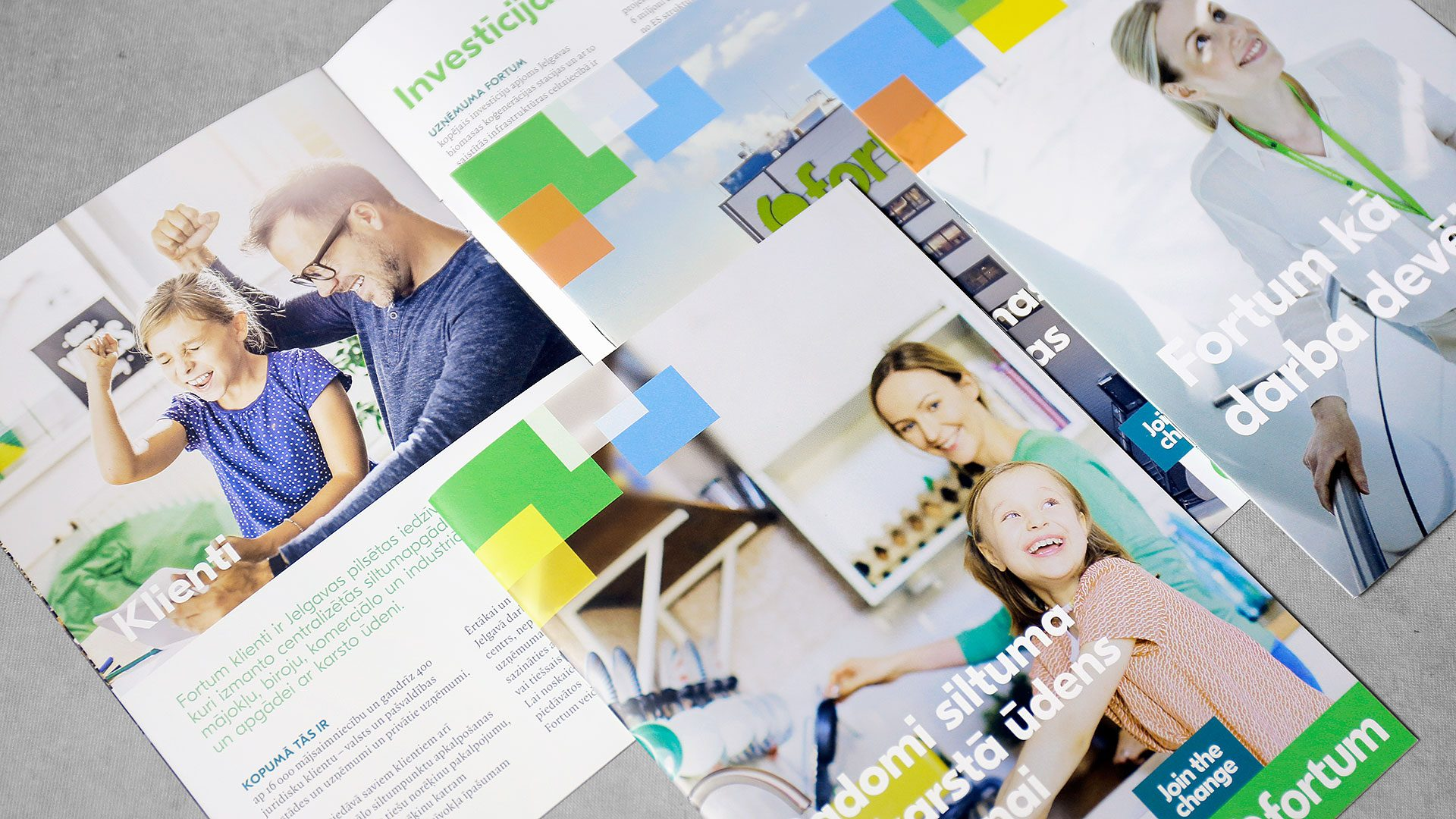 Reklāmas brošūru druka Fortum