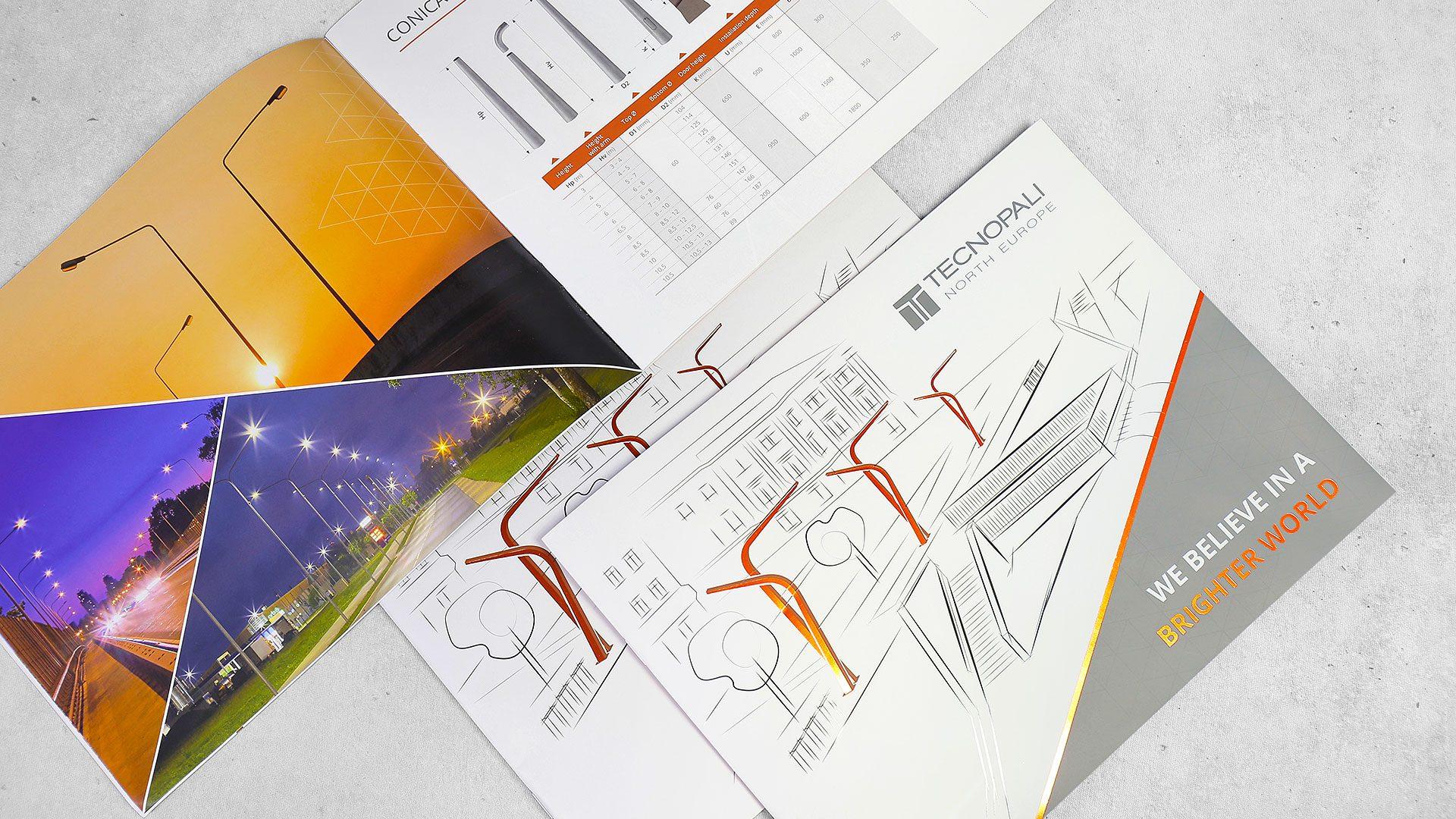 Reklāmas brošūru druka Technopali